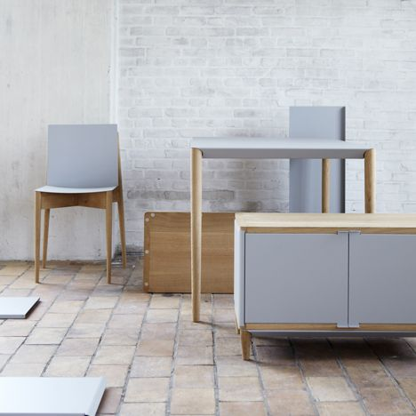 Mag Furniture by Benjamin Vermeulen. Mag is for magnets. Furniture you can actually move.