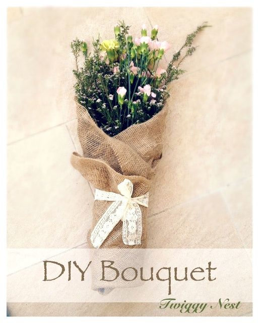 DIY bouquet