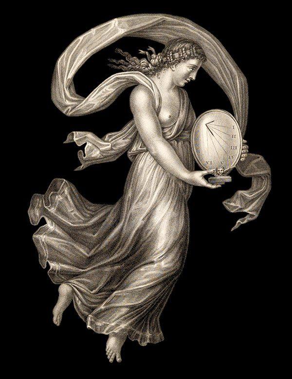 Ж. Лавалли. Четвёртый час дня («Ora Quarta di Giorno»). «Часы Рафаэля» представляют собой серию из двенадцати гравюр, олицетворяющих, согласно подписям к ним, шесть дневных и шесть ночных часов. Первоисточник - Потолочная роспись Зала Понтифексов. Покои Борджиа, Ватикан. 1520-1521