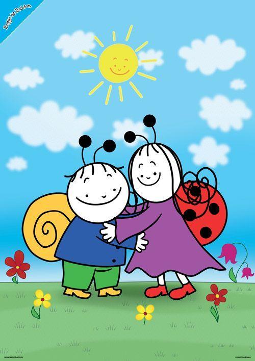 Bogyó és Babóca - A barátság - poszter