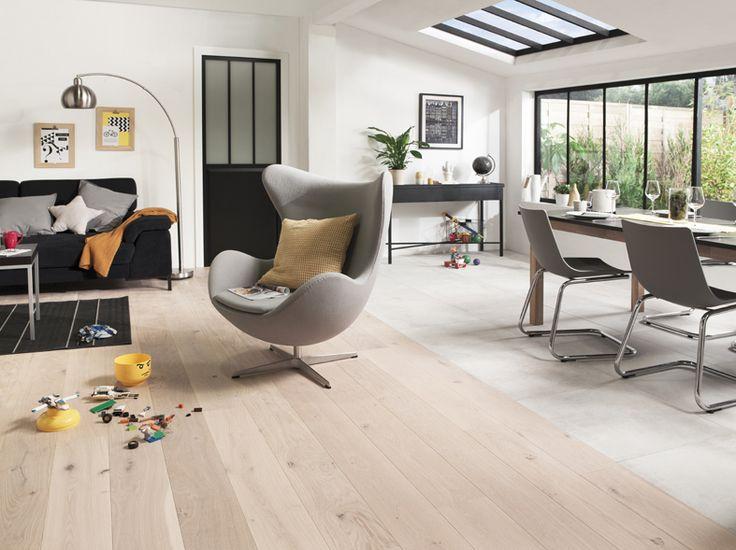 parquet salle a manger. Black Bedroom Furniture Sets. Home Design Ideas