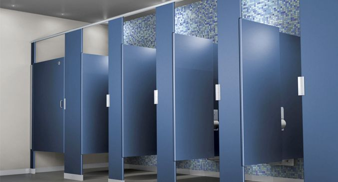 22 best toilet partition parts images on pinterest for Bathroom stall partitions parts