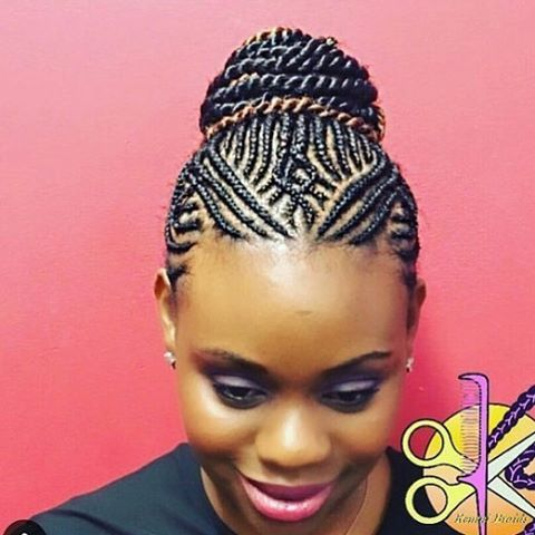 Double tap & tag your friends #summerhair#wear#protectivestyles#find#a#braiding#shop#salon#via#braidbook#book#and#rate#love#follow#instagram#african#hair#braiding#boxbraids#senegalesetwist#cornrows#4chair#kinkycurly#blackhairmag#love#your#hair#prom#graduation @keninibraids this is superb, we ❤️ ur creativity