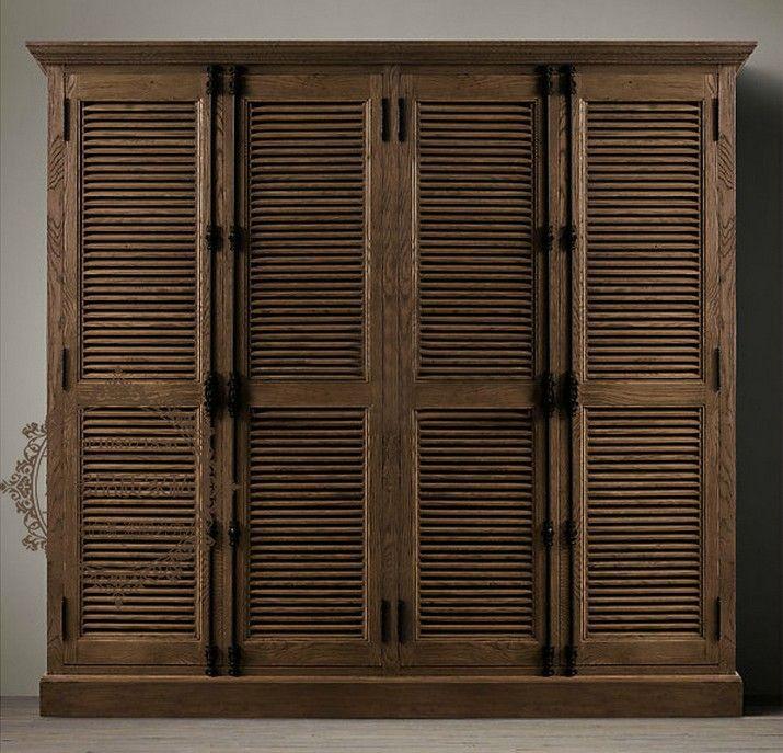 25 best solid wood wardrobes ideas on pinterest - Armarios de madera ...