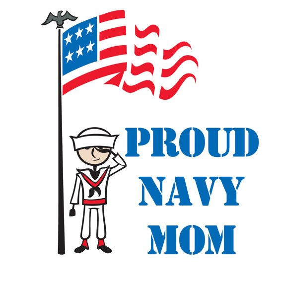 Custom personalized car window decal sticker proud navy mom dad daughter son wife sister brother military