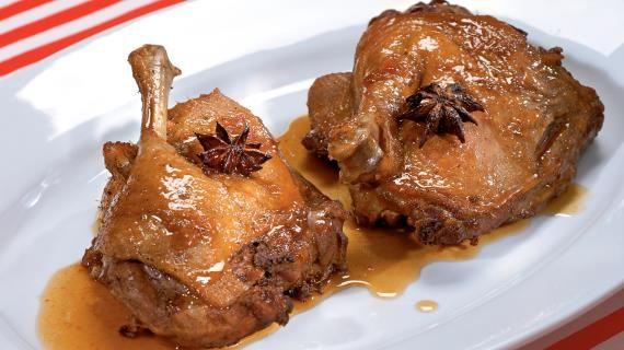 Тушеная утка с абрикосовым соусом. Пошаговый рецепт с фото, удобный поиск рецептов на Gastronom.ru