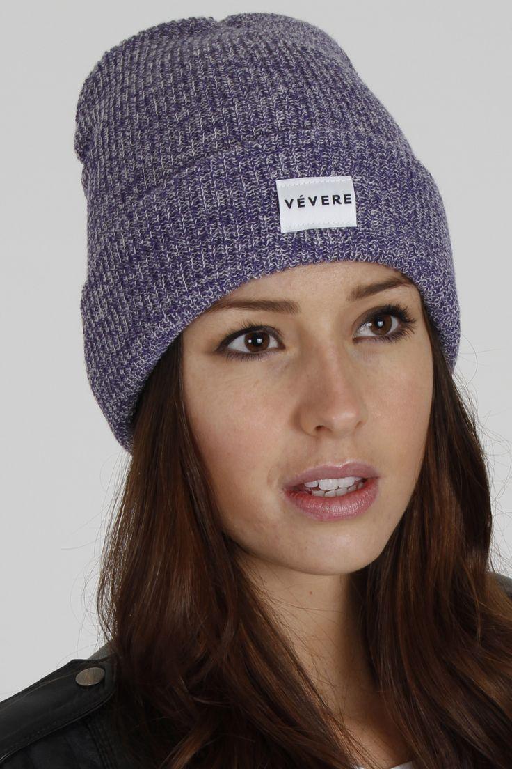 Vevere - Bruges Purple Beanie Hat