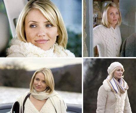 """Cameron Diaz was magnificent in the romantic comedy """"The Holiday"""". I can watch it ten times and still laugh and cry hysterically!"""
