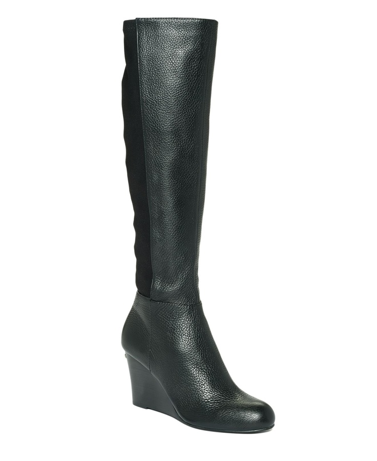 michael michael kors shoes bromley wedge boots shoes