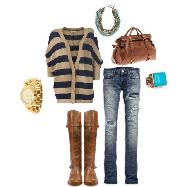 casual fall day...movies..shopping, created by amys31 on PolyvoreFashion, Fall Casual, Outfits And, Casual Fall Outfits, Clothing, Closets, Add, Wear, Boots