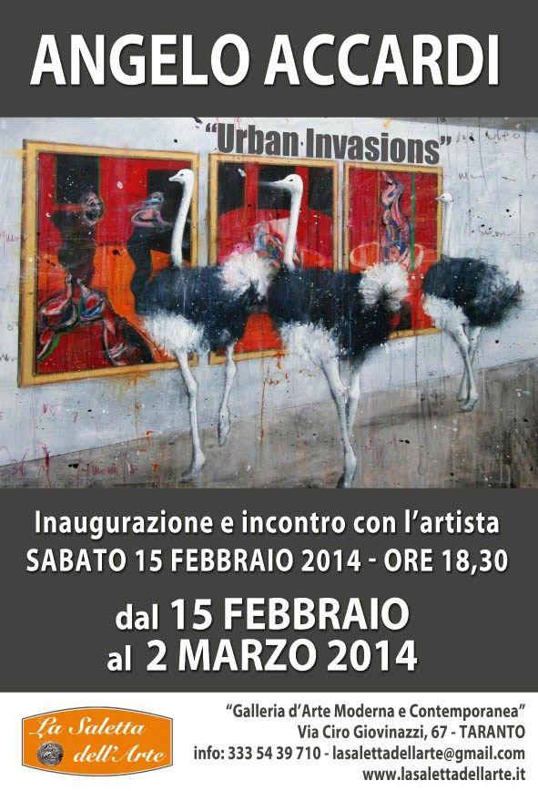 Fino al 2 Marzo, presso la Saletta dell'Arte di Taranto, la maestria, l'estro, il surreale e l'Arte di Angelo Accardi, nostro gradito ospite.