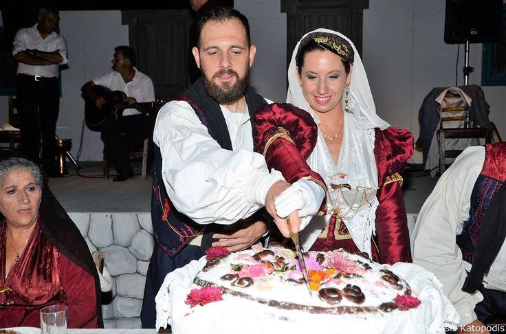 Χωριάτικος γάμος στην Καρυά. 2016.