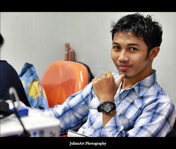 Amir Rizky - Account Executive. Melancholic man, poetry lover :s