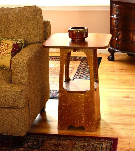 Limbert Craftsman style table by NewMissionWorkshop on Etsy, $875.00