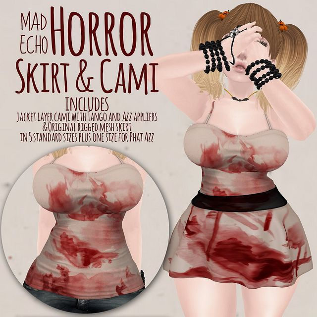 Horror Skirt and Cami | Flickr - Photo Sharing!