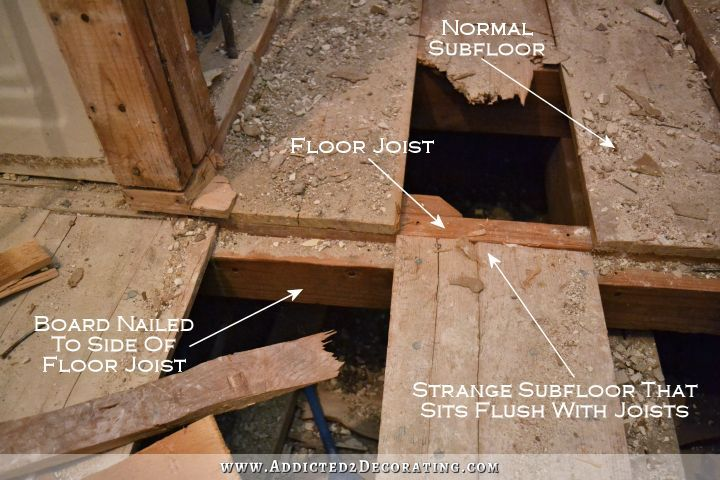 569 best images about for the home on pinterest - How to replace subfloor in bathroom ...