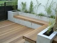 Image result for outdoor corner bench seating