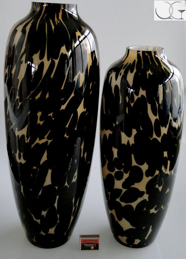 Wazon szklany Wino Cordoby h-62