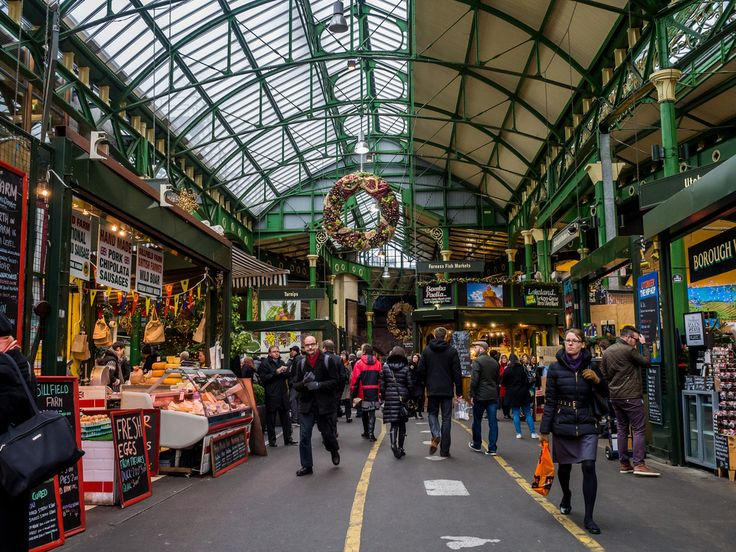 Borough Market, the oldest food market in London.