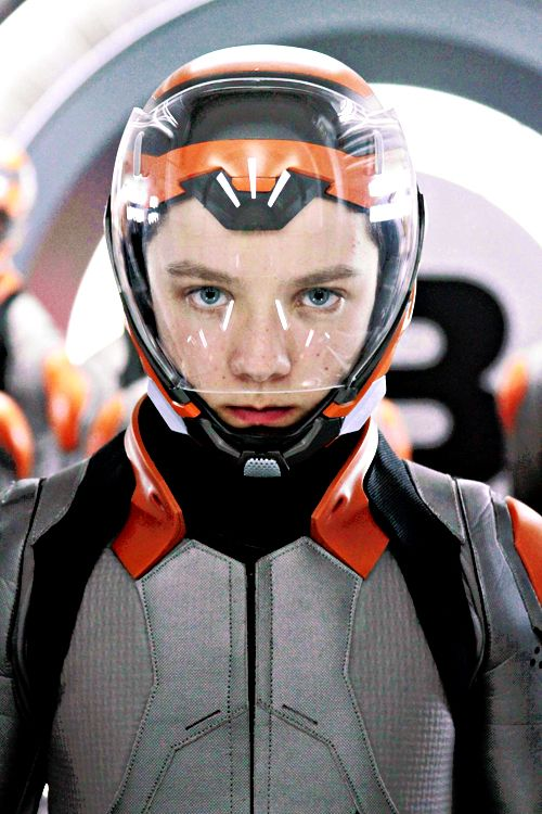 I saw the movie! Ender's Game ...