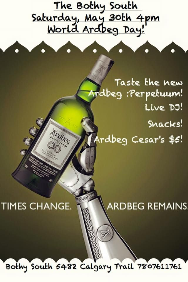 World Ardbeg Day approaches! Come by for a day of fun!