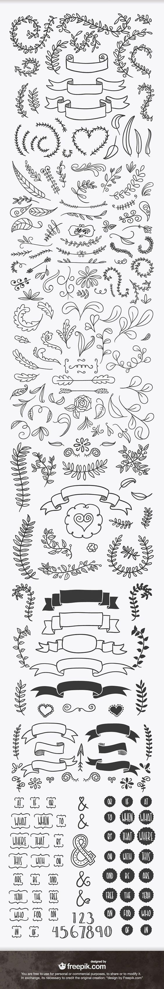Beautiful hand lettering inspiration. These designs would be perfect wood burning patterns!