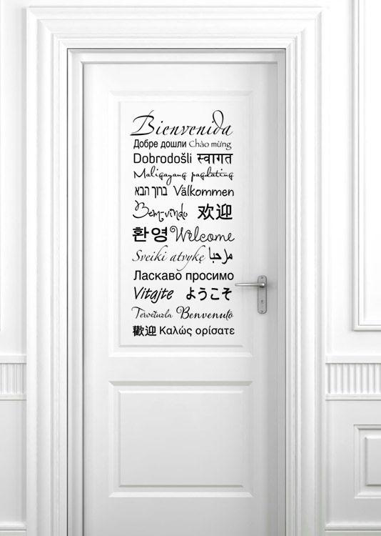Vinilos paredes – Frases breves