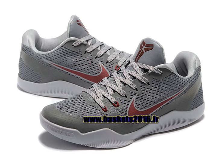 Nike Kobe 11 Elite Low Chaussures Nike Baskets 2016 Pas Cher Pour Homme gris