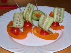Gemüse Schiffchen