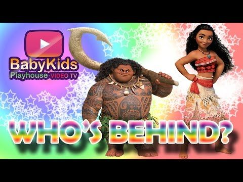 Check out my video 💥 Guess who's behind - surprise moana and maui -  nursery baby game  https://youtube.com/watch?v=YRYY_Zd0bYE