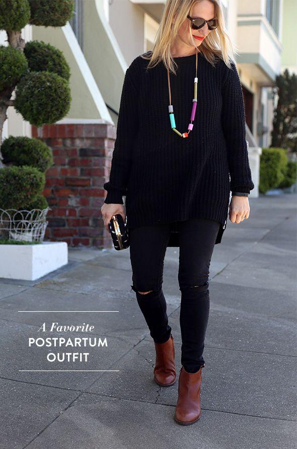 Favorite postpartum outfit
