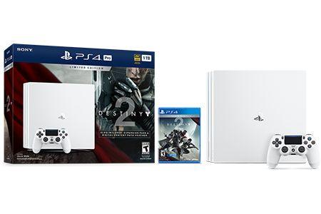 Limited Edition Destiny 2 PS4 Pro Bundle