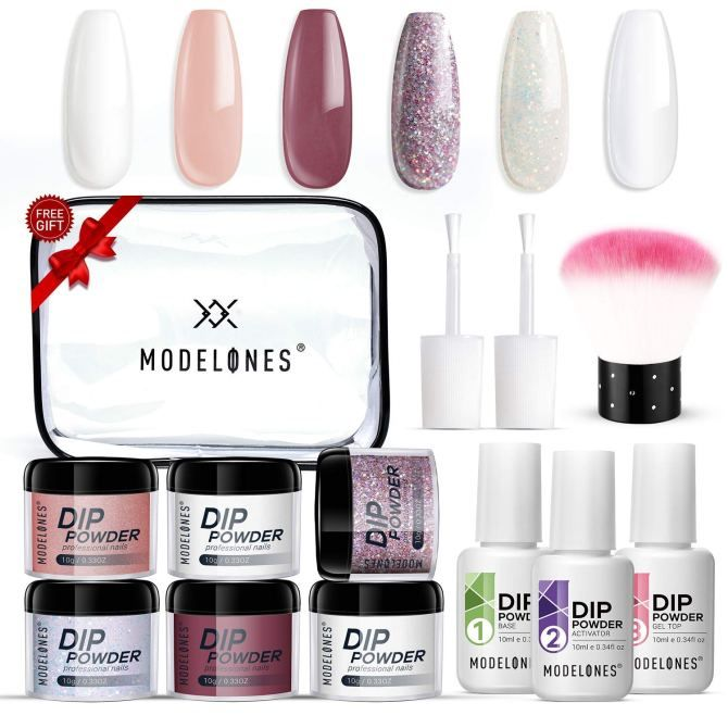 The Best Acrylic Nail Kits To Diy At Home Talons In 2020 Acrylic Nail Kit Diy Acrylic Nails Kit Dip Powder Nails