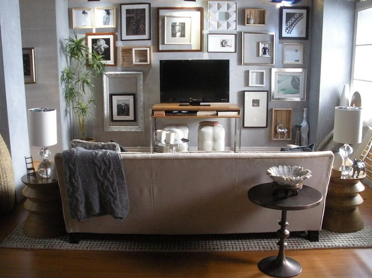 Flat Screen Art Living Room