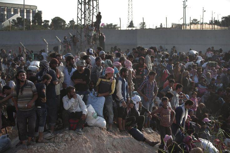 REFUGIADOS Refugiados sirios huyen del Estado Islámico | Internacional | EL PAÍS