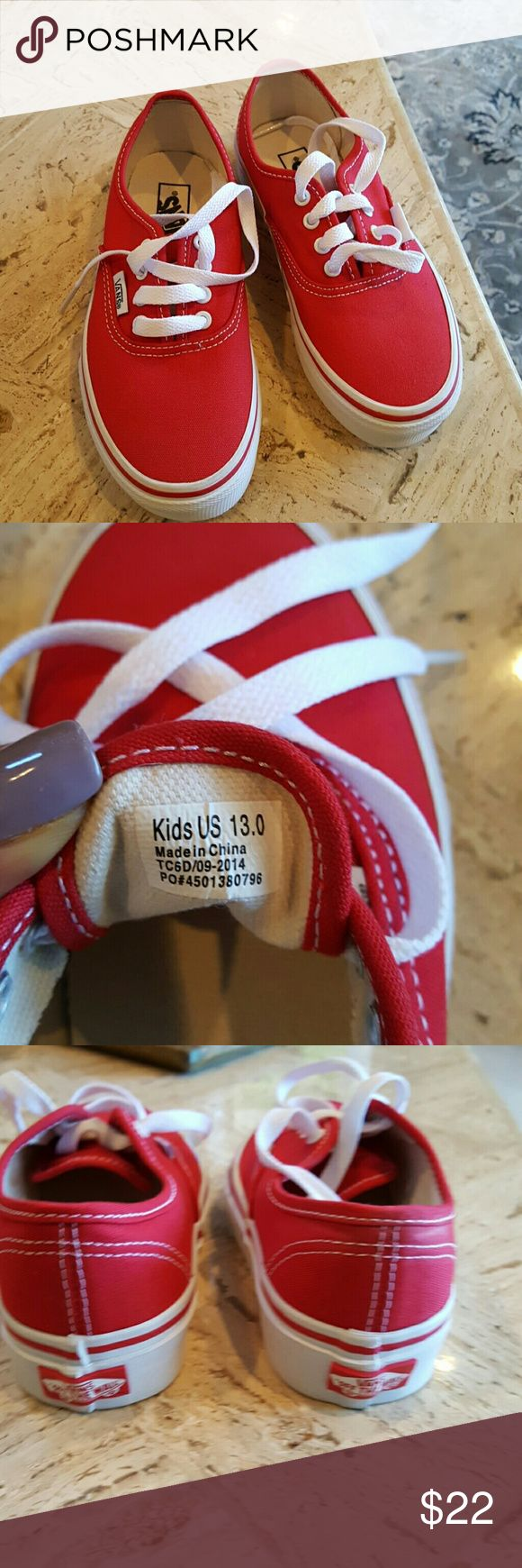 Boys Van's sneakers New Vans Shoes Sneakers
