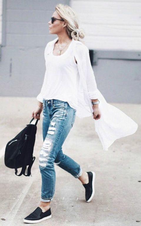 25  cute Long white cardigan ideas on Pinterest | White sneakers ...