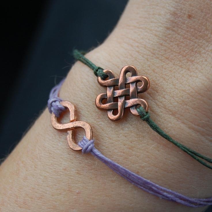 eternal & infinity bracelets