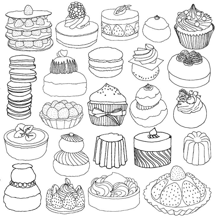 241 best images about COLORING food on Pinterest  Dovers Ice