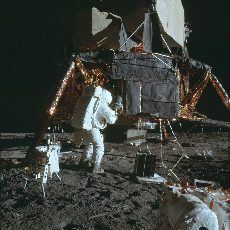 """Some of the """"more uncommon"""" images of the Apollo program.  http://www.universetoday.com/114753/seeking-apollo-pictures-heres-how-to-find-obscure-shots-from-the-moon-landing-program/"""