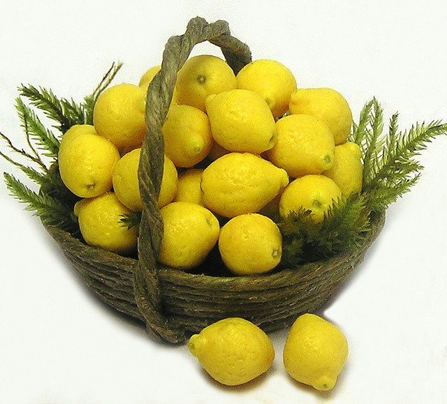 Lemon #fruit, miniatures