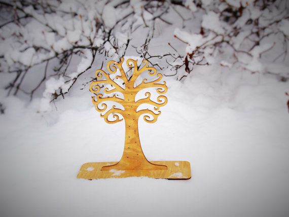 Check out this item in my Etsy shop https://www.etsy.com/listing/211717715/wooden-jewelry-stand-tree-wooden-jewelry