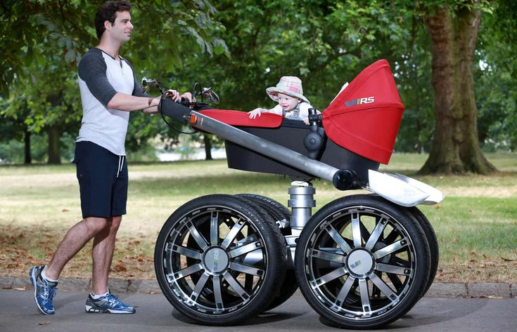 Lol, Love It!  As Seen on the Internets: SKODA's Steroid-Infused Baby Stroller