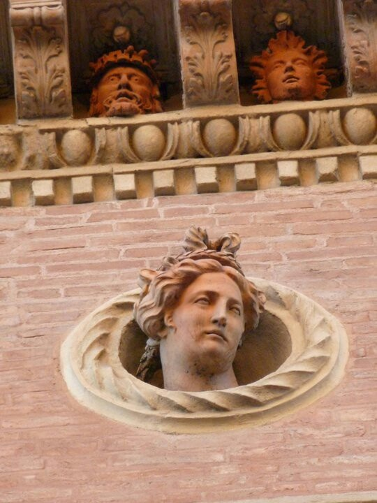 Bologna; Palazzo in Piazza Santo Stefano, province of Bologna Emilia Romagna