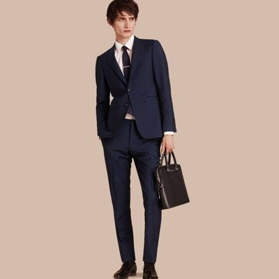 The Chelsea – Slim Fit Wool Mohair Suit | Burberry