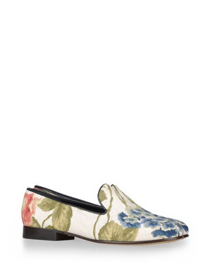floral slippers by CB Made in Italy