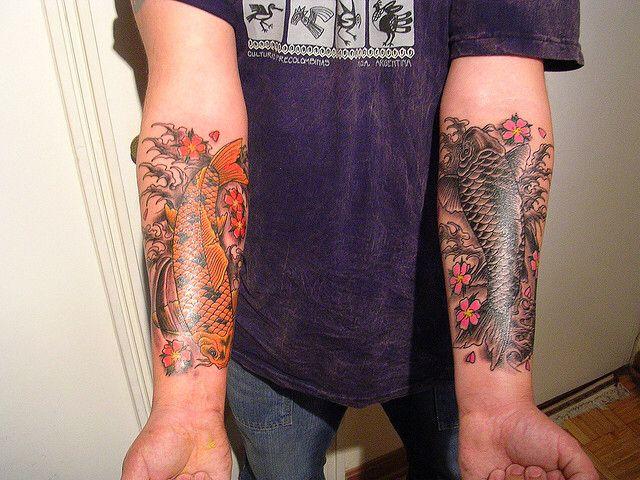 50 best koi tattoo images on pinterest fish tattoos koi for Great falls tattoo shops