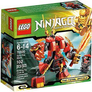LEGO Ninjago Kai Fire Mech Play Set - Ryan