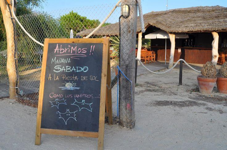 Chiringuito (beach bar) La Batalla. Los Caños de MEca, Cadiz, Spain, 2015. Photo from PT´s Foto Fun