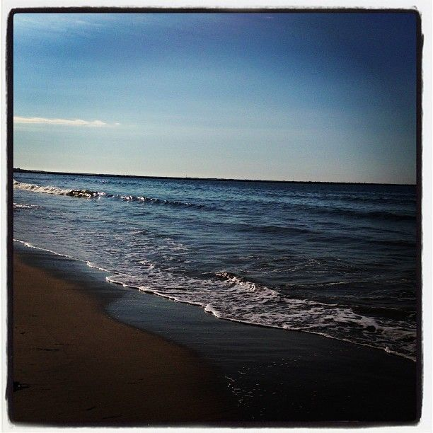 Island Beach Scenes: East Matunuck Beach, Rhode Island